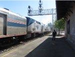 Amtrak #6 Departing Martinez