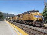 Union Pacific 7614 Leads KOAMN-11