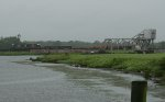 SB MOW train crossing the West Branch Cooper river
