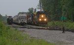 CSX local coming out of ECBR yard