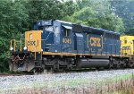 CSX 4045 leading a local back to Charleston