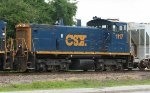 CSX 1117 on the local