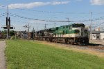 NS 8099 leads Q335 west while wandering around on CSX rails for a few days