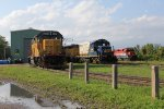 LLPX 2236, RLK 4001 & RLK 4095 sit lined up in Goderich