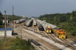 TZPR 3000 & MQT 2004 wait to go to work shuffling cars in the yard mostly for Occichem and sand loading