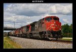 CN 8889, 2527 & 2687 leading a southbound manifest