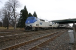 Amtrak 49 motors through without freight opposition