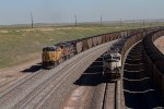 BNSF9140, UP7222 and UP6345