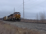 BNSF 861 and B-Unit on Q335