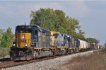 CSXT 4044 On CSX Q 558 Northbound