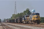 CSXT 7685 On CSX Q 366 Northbound