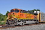 BNSF 4398 On NS 25 W Eastbound