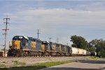 CSXT 6362 On CSX J 783 Eastbound