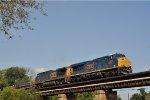 CSXT 3122 On CSX K 587 Eastbound