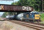 CSX GP40-2 #4421 on C770-21