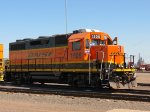BNSF 1505 Clean and just sitting in Superior Maintenance area