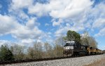 NS train #153 (Manifest) (Linwood, NC - Birmingham, AL) (pic 1)