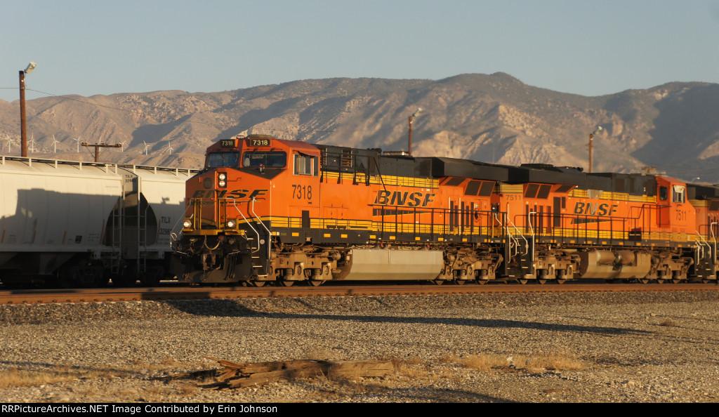 BNSF at Mojave