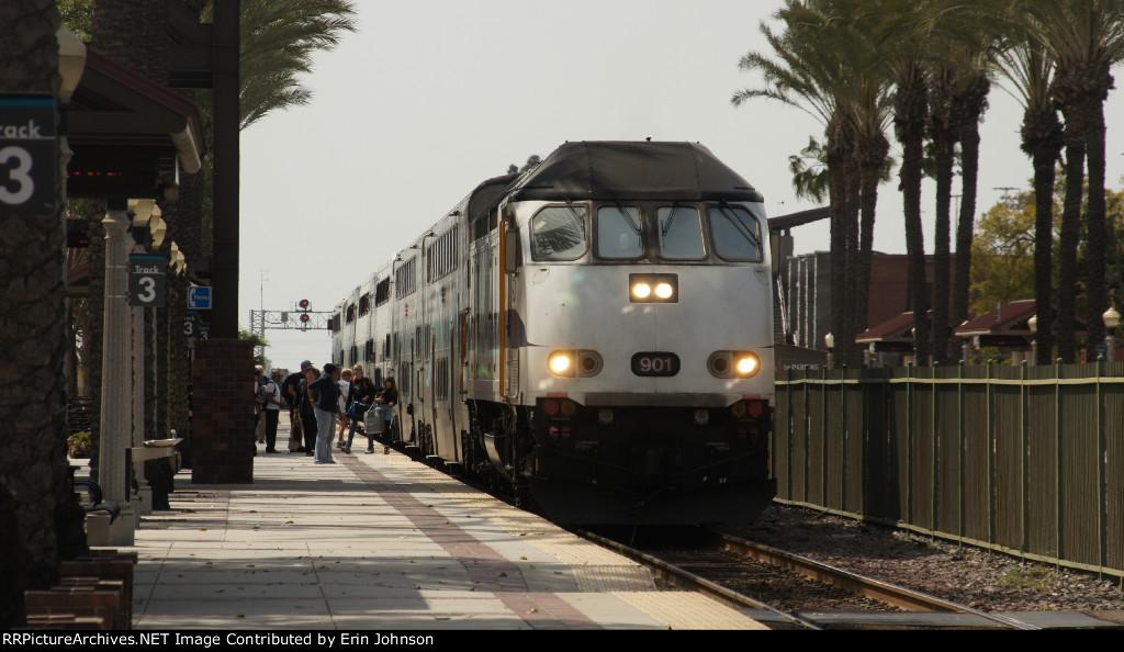 Metrolink at Fullerton