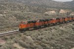 BNSF 7361 at Hill; 582, Cajon Pass