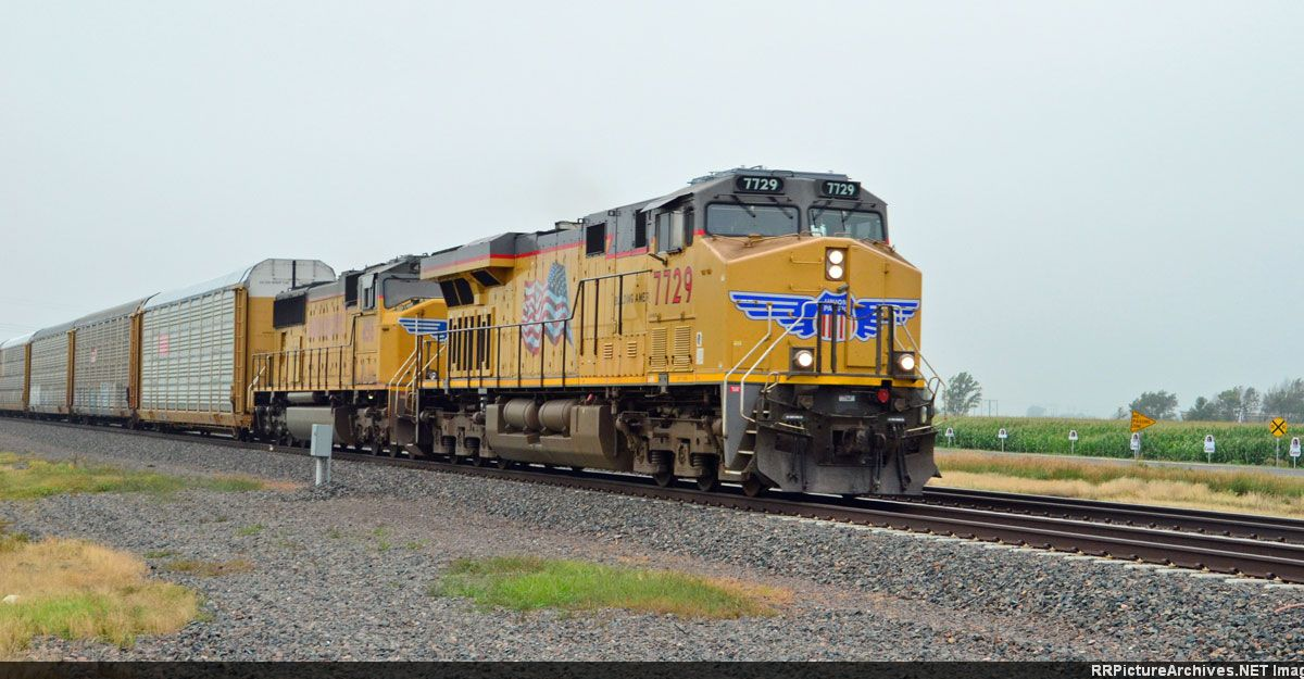 UP 7729 UP 4615