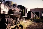 Two Locomotive Projects - Chama 1986