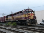 Q404 backs off of CSX onto the NYSW