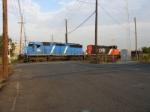 CSX X163-07 heads north from Port Newark NJ to Syracuse, NY