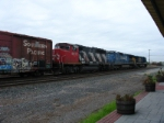 Q410 heads north with a visitor from the north country in tow