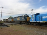 SD45-2 and an SW1001 add to the power for Q418-27