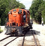 Switch on Run-Around Track - Ottawa Junction, Kansas on the Midland Railway