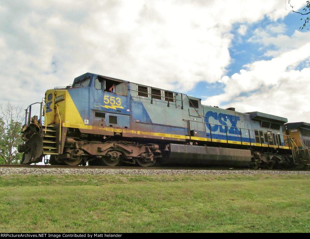 CSX 553