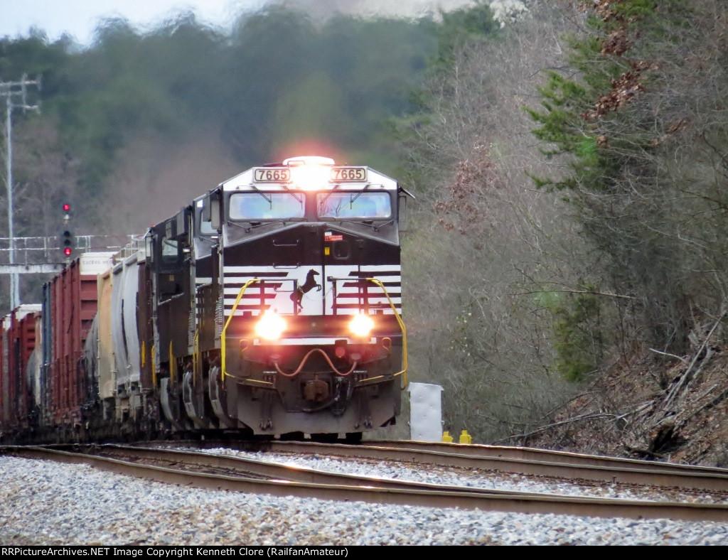 NS train #172 (Manifest) (New Orleans, LA - Linwood, NC) (pic 1)