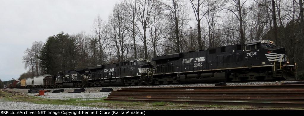 NS train #172 (Manifest) (New Orleans, LA - Linwood, NC) (pic 2)