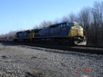 CSX 7719 & CSX 7557 head WB on the #1 Track
