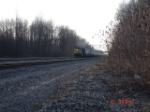 CSX 7809 heads EB with an Intermodal Freight in tow