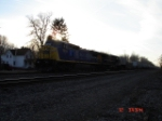 CSX 7809 & CSX 592 are EB with an Intermodal Freight