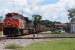 CN Northbound Coal Train