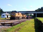 UP 4601 8736 CSX Train Q601 on the CSX P&A Sub