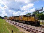 UP 5137 7403 CSX Train Q208 on the P&A Sub