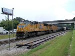 UP 5137 7403 CSX Train Q601-12 on the P&A Sub
