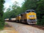 UP 8733 4495 CSX Train Q179 on the P&A Sub