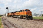 BNSF mixed freight EB at NX crossing