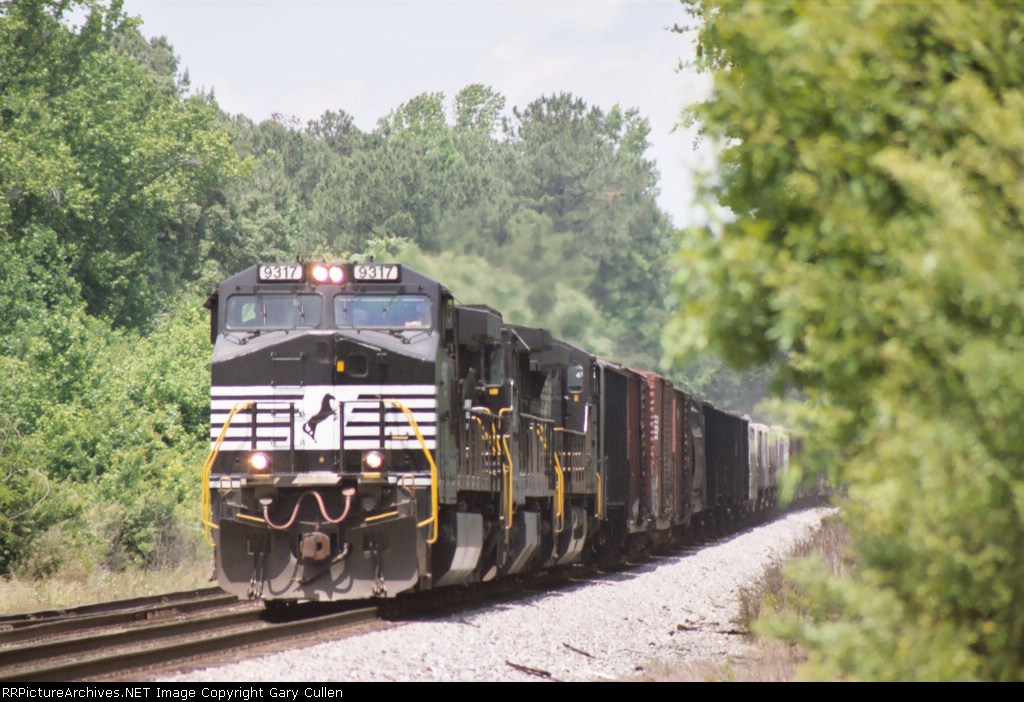 NS Train #119 passing the Southeastern Railway Museum