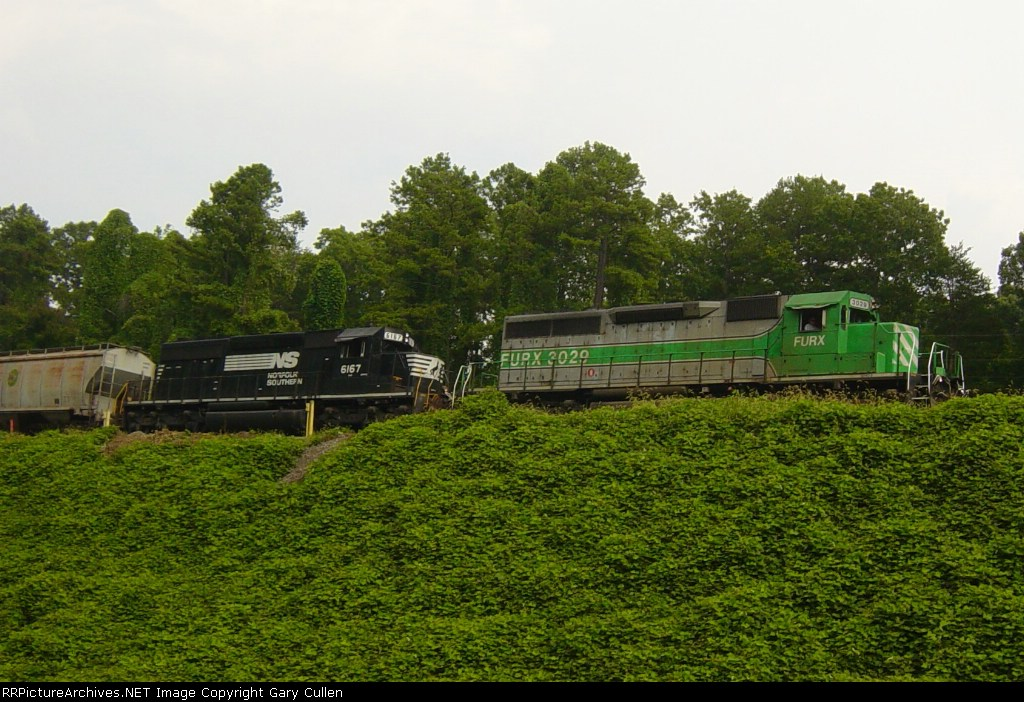 """NS Freight passing """"White Sulpher"""" control point"""