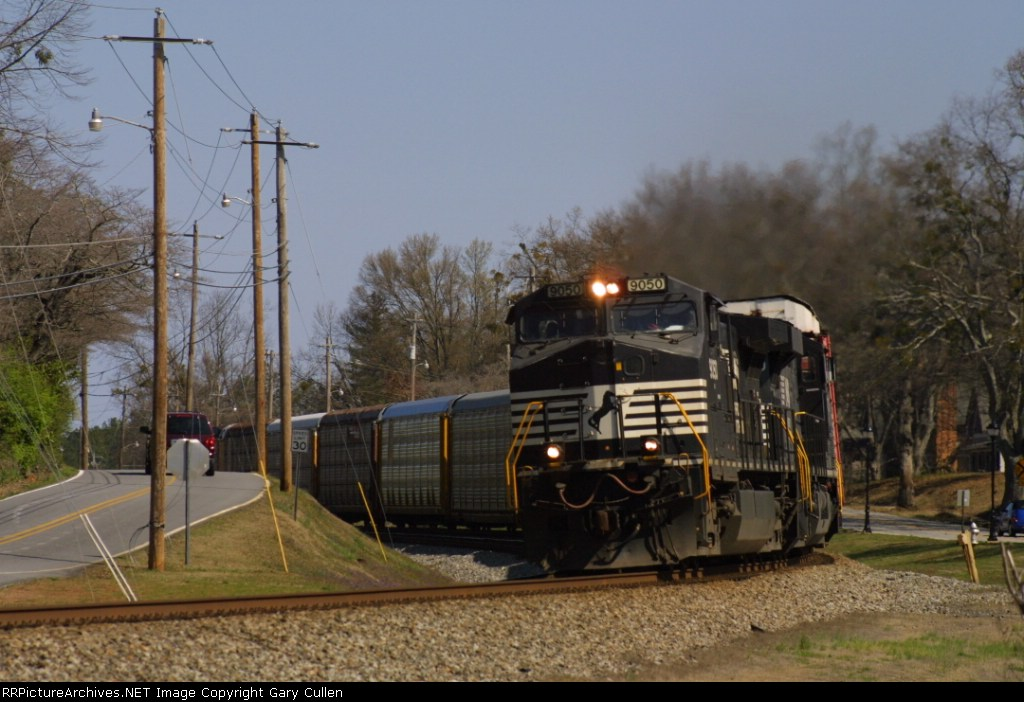 NS #213 rounds the curve