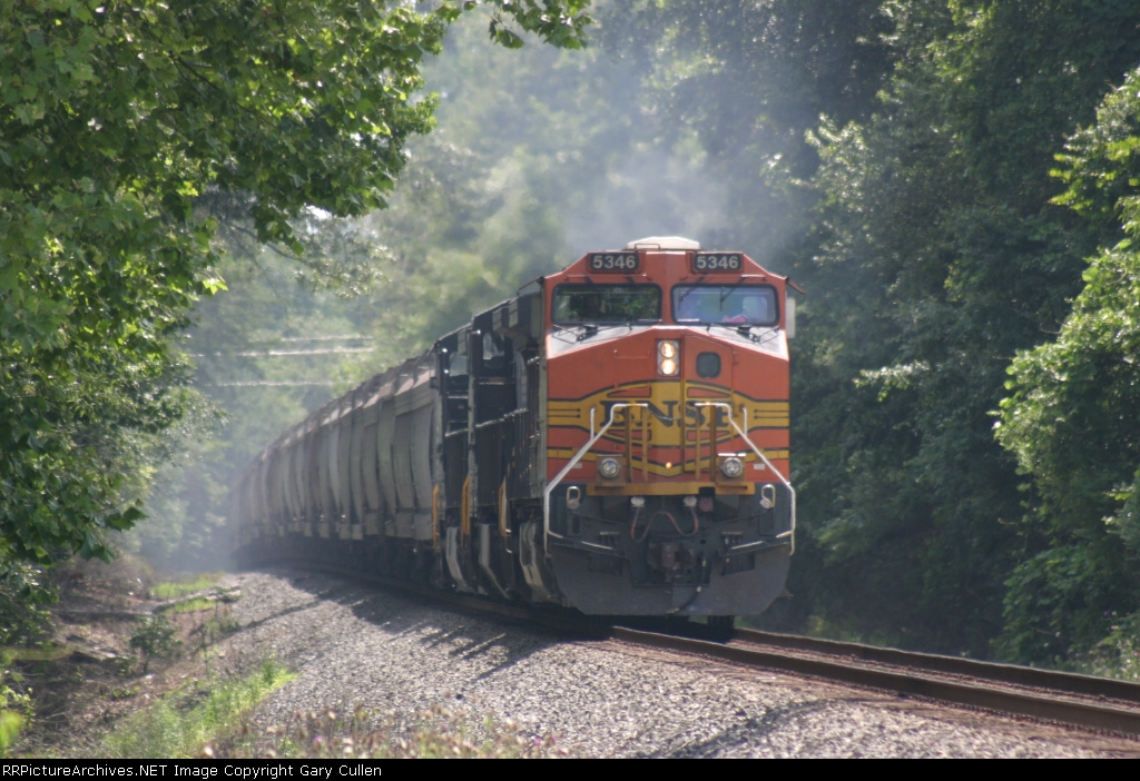 NS Train #172 about to pass the MP598.2 detector north