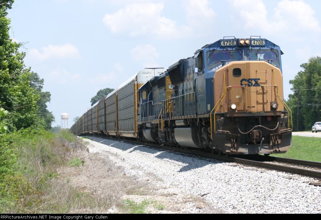 CSX 4708 south
