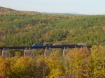 NS local crosses the Wells Viaduct