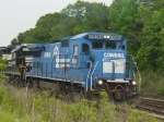 NS Train #P68 working Carolina.  Nice Vintage Scheme.  I loved the B40-8's!